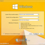 Windows 8 Transformation Pack Setup Dialog