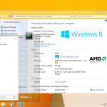 Windows 8's Aero UI for Windows 7 screenshot