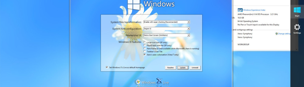 Windows 8 Transformation/UX Pack 7.0 Released