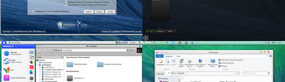 OS X Mavericks Transformation/UX Pack Released – The best OS X Mavericks experiences is now