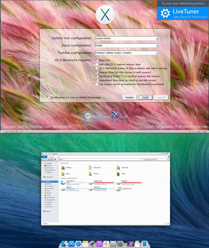 OS X Mavericks UX Pack 3.1