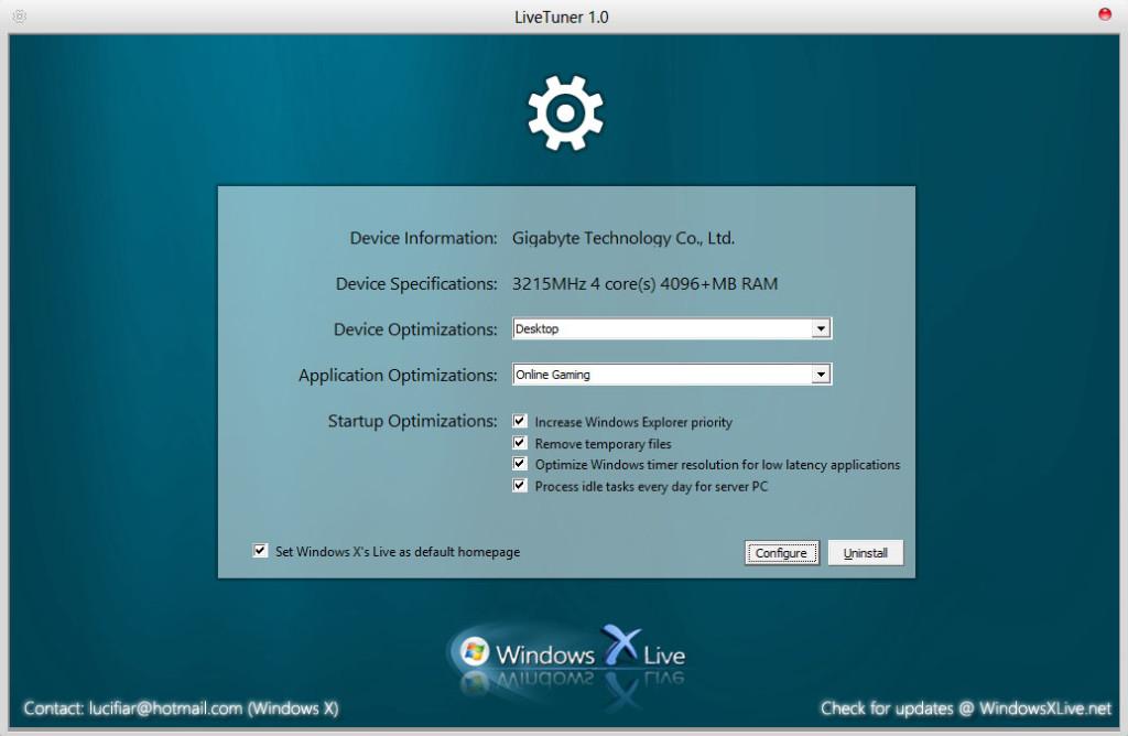 LiveTuner 1.0