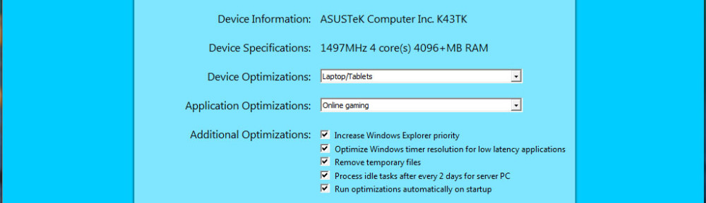 Windows X Optimizer project report #2