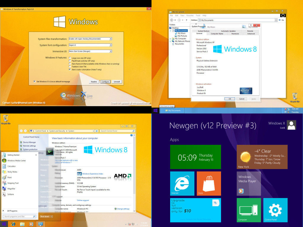 Windows 8 Transformation Pack 8.0