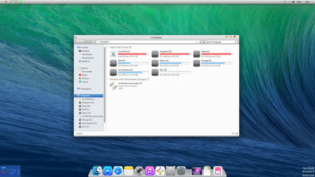 New Mac updates screenshot