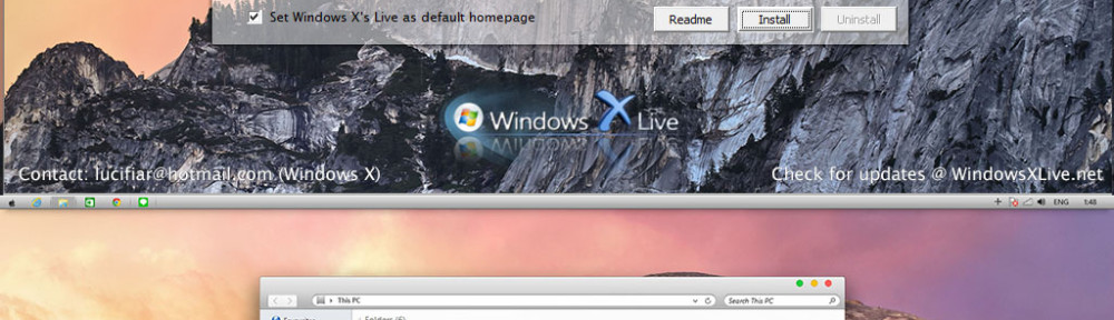 Yosemite Transformation/UX Pack Released – The world's first OS X Yosemite customization for Windows