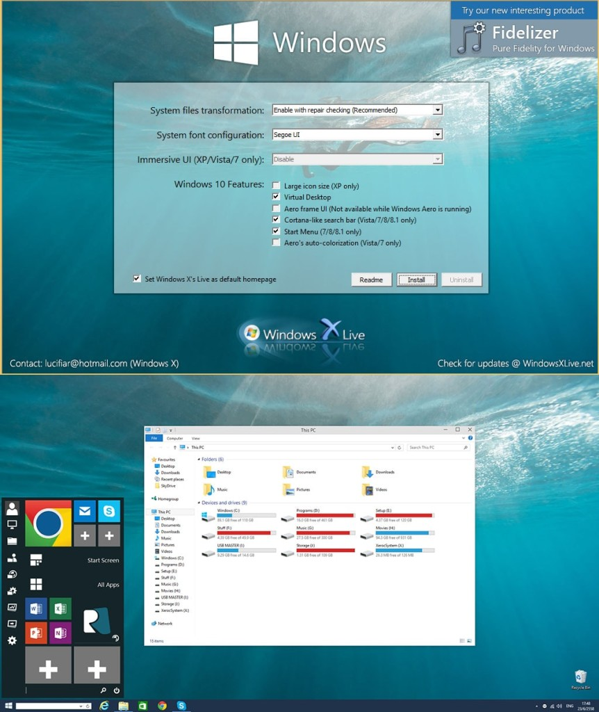 Windows 10 Transformation Pack 4.5