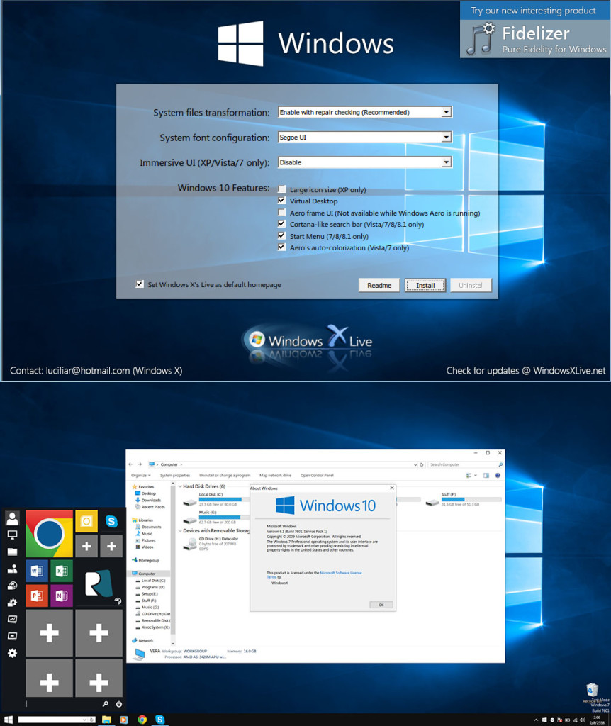 Windows 10 Transformation Pack 5.0