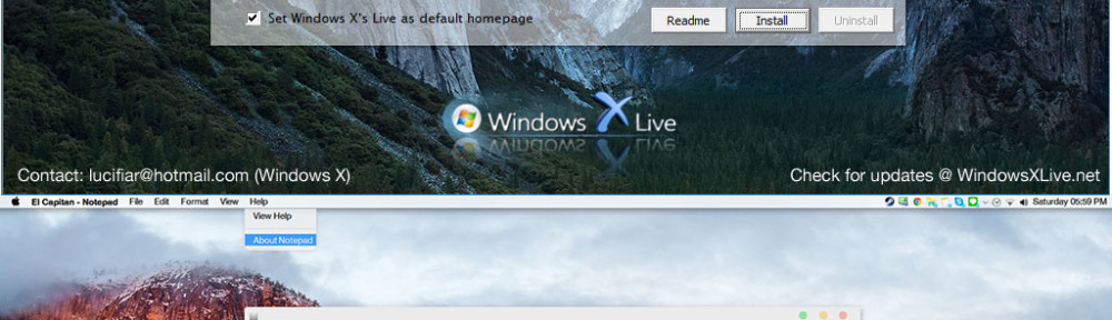 El Capitan Transformation/UX Pack 2.0 Released – The real FinderBar is here in Windows 10 v1511