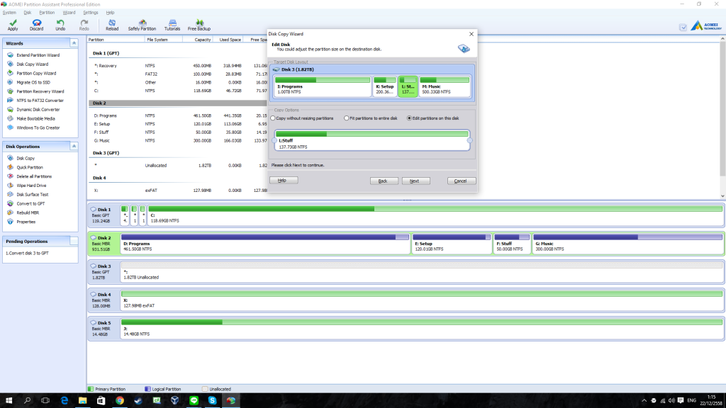 AOMEI Partition Assistant Professional Edition - Review 3