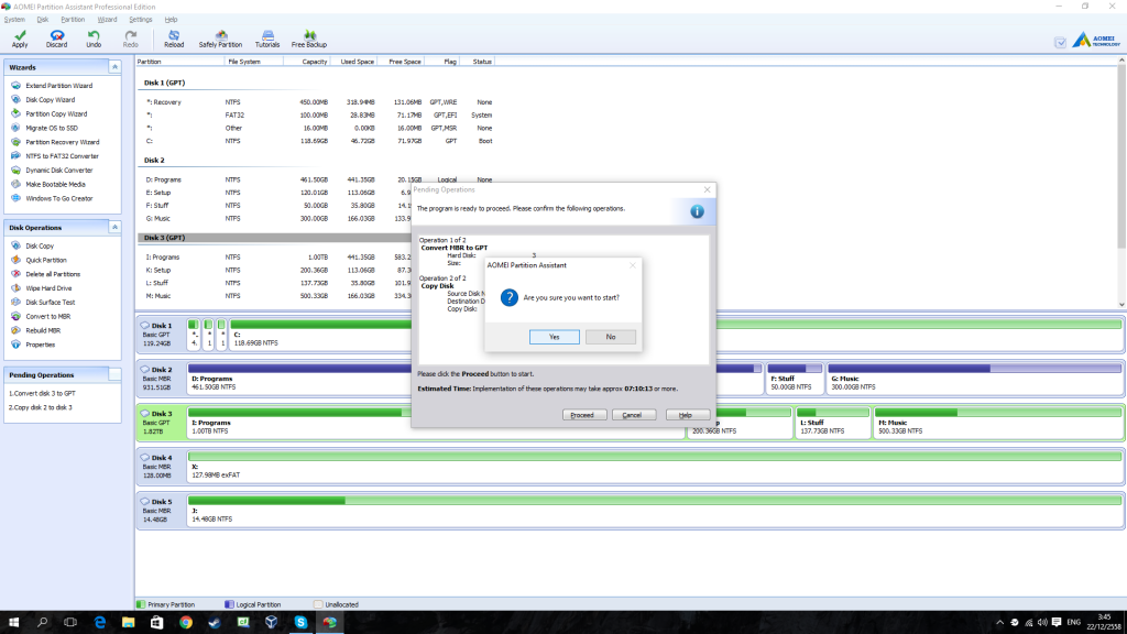 AOMEI Partition Assistant Professional Edition - Review 5