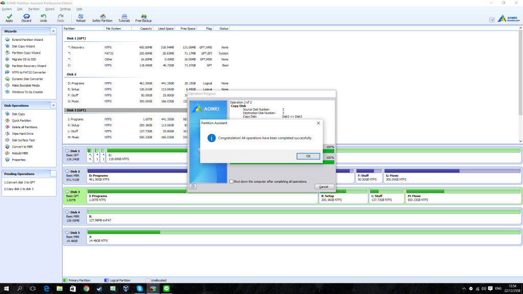 AOMEI Partition Assistant Professional Edition - Review 7